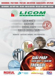 Licom Insulation Catalogue
