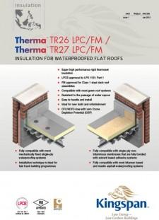 Kingspan Therma™ TR26 LPC/FM-TR27 LPC/FM