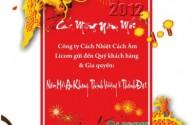 Chúc Mừng Năm Mới 2012