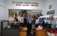 Rockwool Asia thăm và làm việc tại Licom
