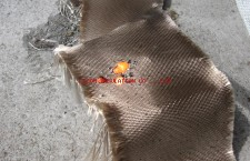 Silica and Glasscloth for Welding curtain